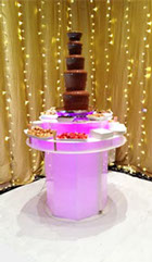Chocolate Fountain with Dips