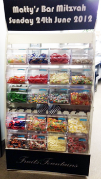Pick 'N' Mix Sweets Stand