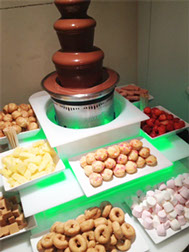 Chocolate Fountain and Dips