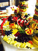 Fruit Display for Parties and Corporate Events