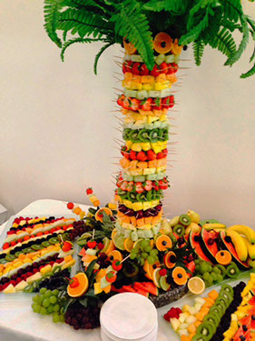 Fruit Palm Tree for Weddings - London