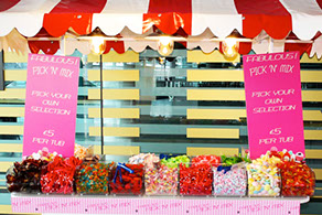 Pick n Mix Large Stand for Events London