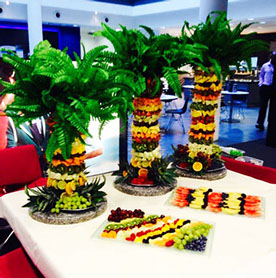 Fruit Palm Trio by Fruits & Fountains - London